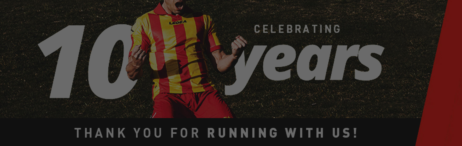 Sports Portal LEGEA Australia celebrates 10 Years!