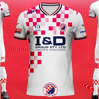 DANDENONG CITY SC AWAY SHIRT 19