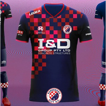 DANDENONG CITY SC HOME SHIRT 19