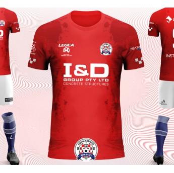 NORTH GEELONG WARRIORS FC HOME KIT 19