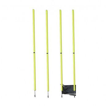 AGILITY POLES 4 PACK